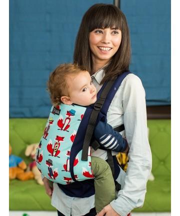 ISARA Foxy Toddler ergonomic adjustable  baby carrier 100% cotton