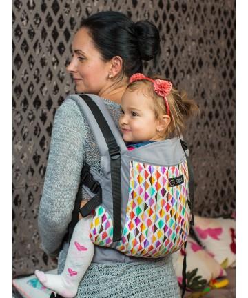 ISARA Joy Toddler ergonomic adjustable  baby carrier organic cotton