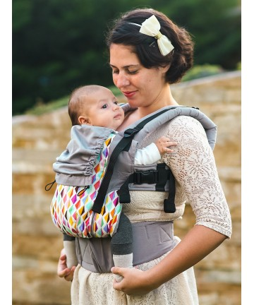 ISARA Joy baby, ergonomic adjustable baby carrier organic cotton