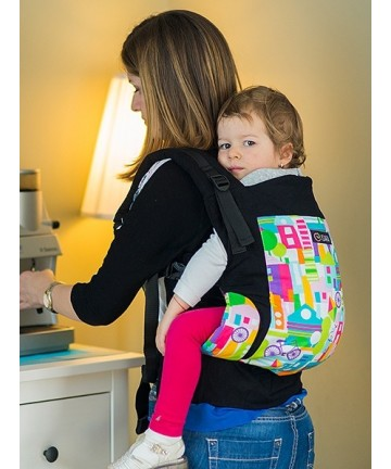 ISARA La Vie Est Belle Toddler ergonomic adjustable  baby carrier organic cotton