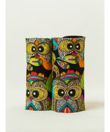 Teething Pads ISARA Funky Owls