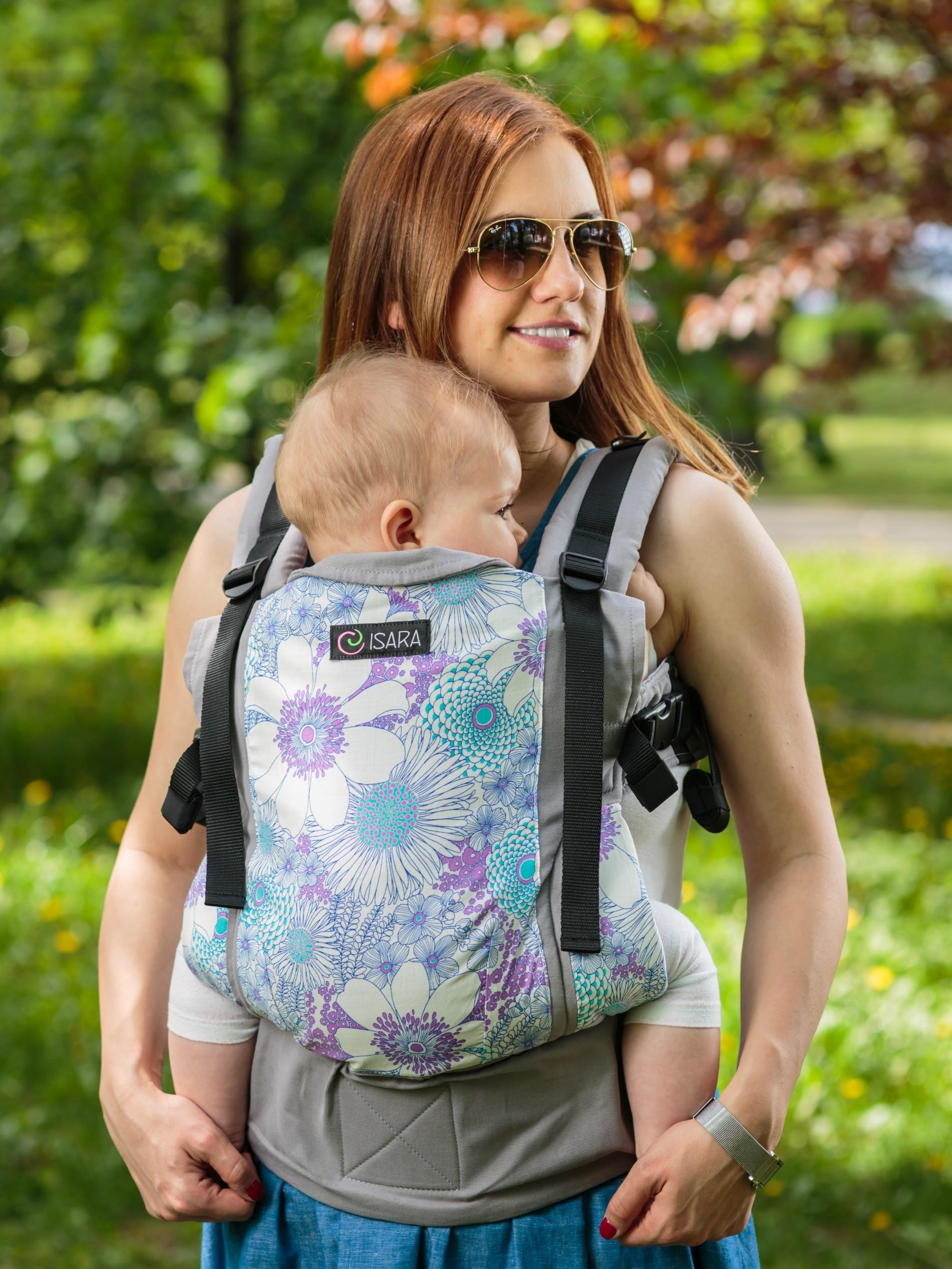 ISARA ergonomic adjustable baby carrier standard size ISARA