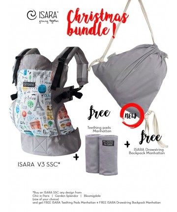 ISARA Christmas Bundle Chic in Paris standard size